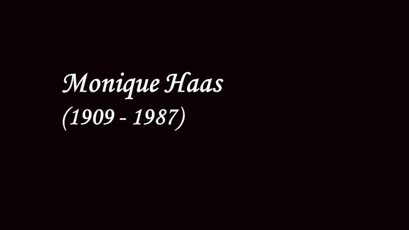 [1949] Monique Haas plays – La Fille aux Cheveux de Lin (Préludes Book I) – Debussy