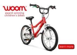 Teach your little one on a Woom Bike