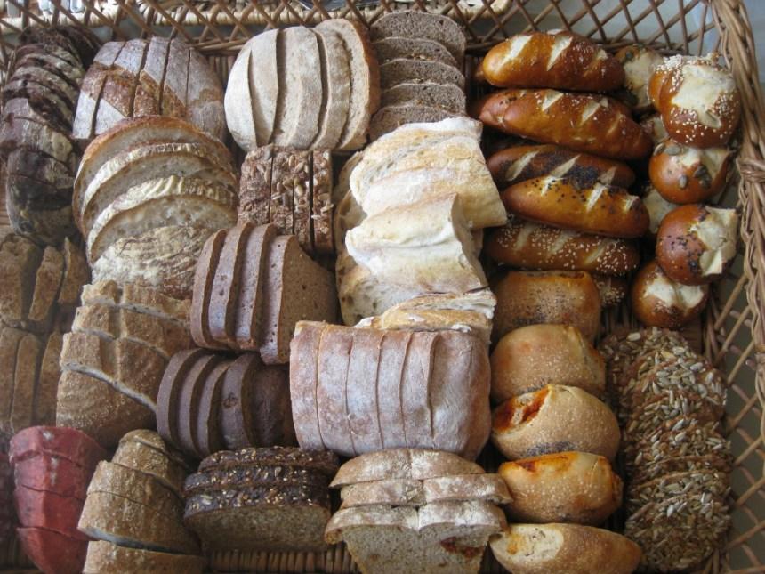 Plenty of bread to make!