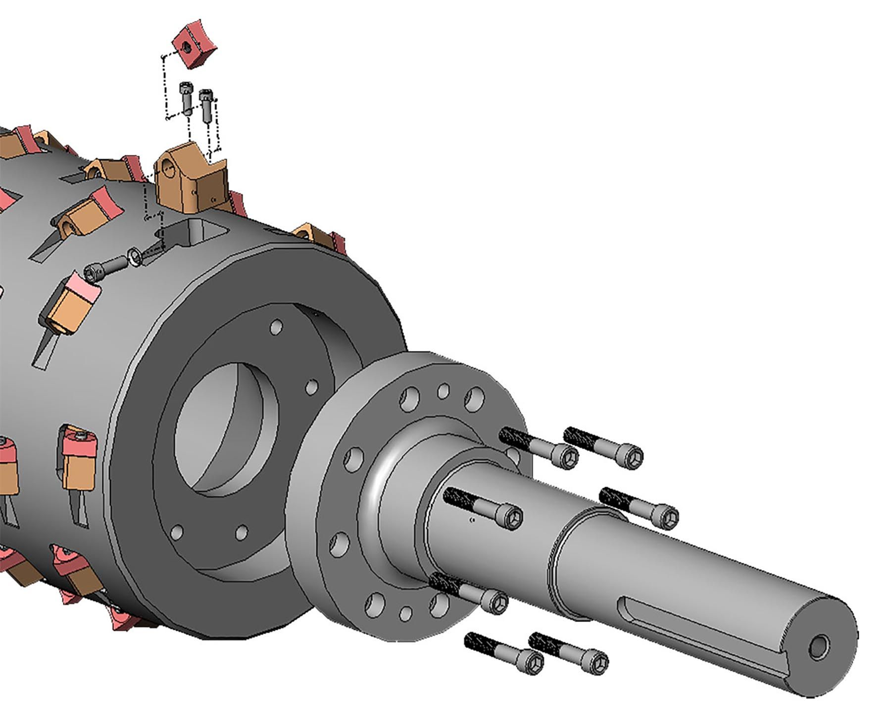 Rotor And Cutting Chamber Details