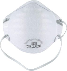 Mask N95 mask, FFP2 Filter 98% Bacteria Anti PM2.5 Protection Dust Pollution Mask Unisex Outdoor (20 Pcs)