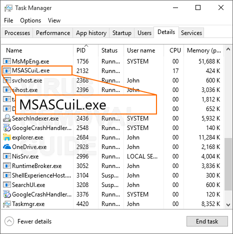 MSASCuiL.exe trojan