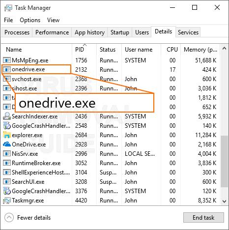 OneDrive.exe trojan