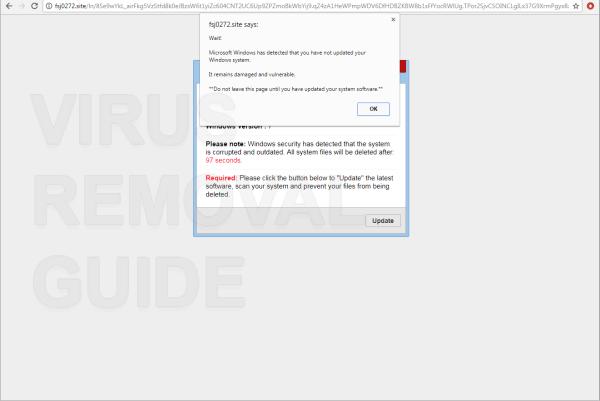 Windows güvenliği, sistemin bozuk ve eski olduğunu tespit etti.