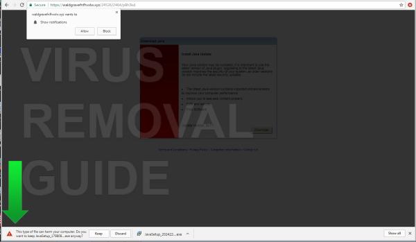 Waldgravefnfhvxlw.xyz adware