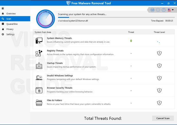 Free Malware Removal Tool adware