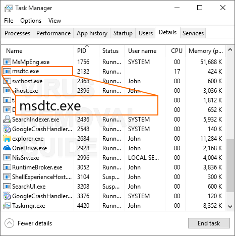 What is MSdtc exe and How to Fix It? Virus or Safe?