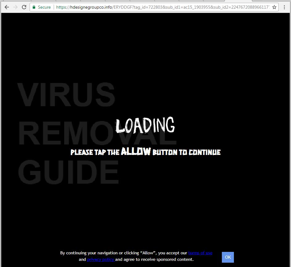 Hdesignegroupco.info adware
