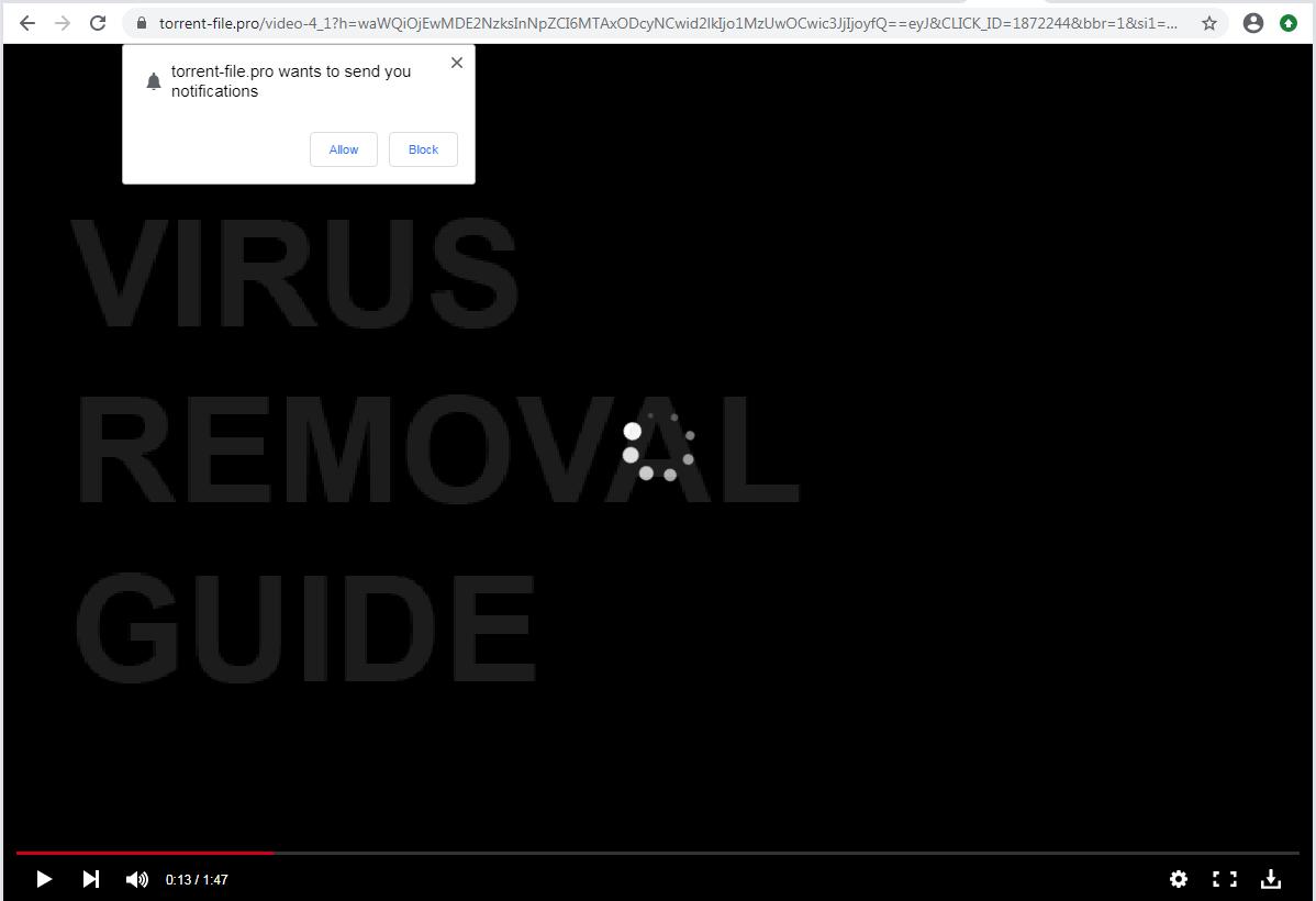 Torrent-file.pro adware