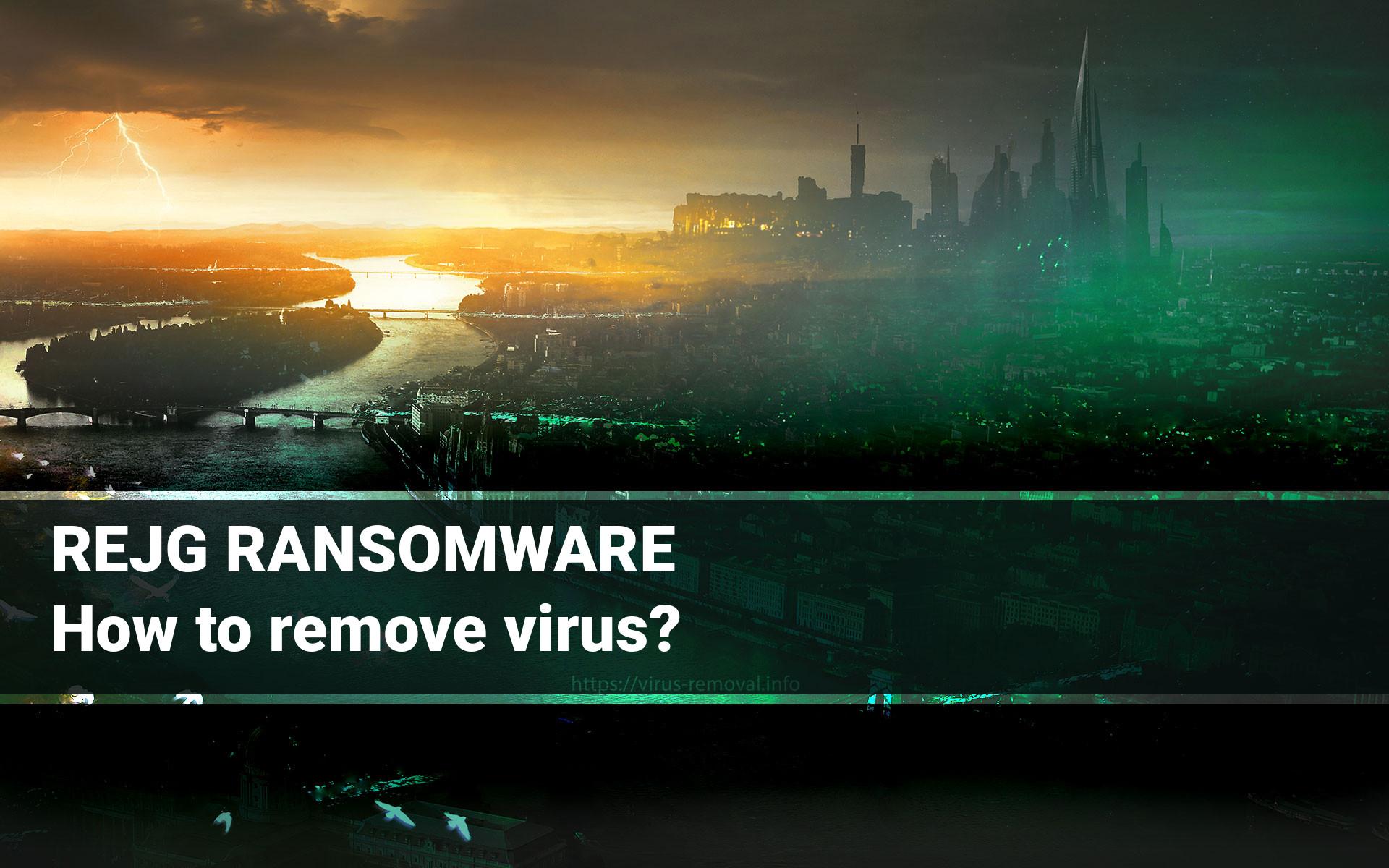 REJG ransomware