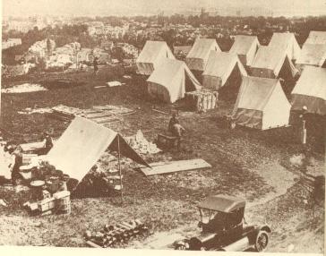 בית־חולים שדה לחולי השפעת הספרדית, או שמא בית־קברות שדה