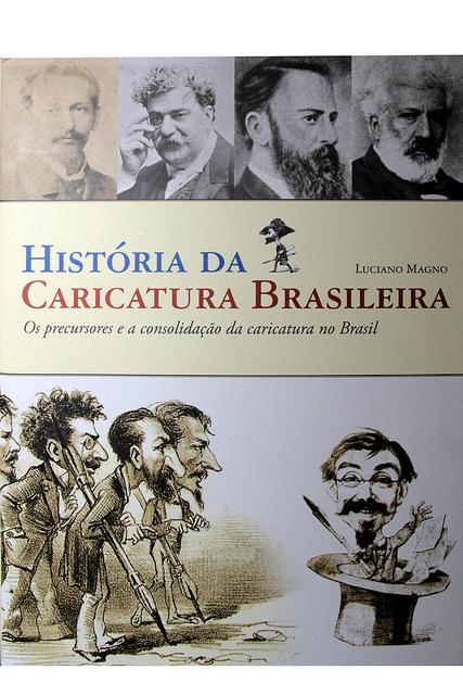 HISTÓRIA DA CARICATURA BRASILEIRA - VÍRUS DA ARTE & CIA