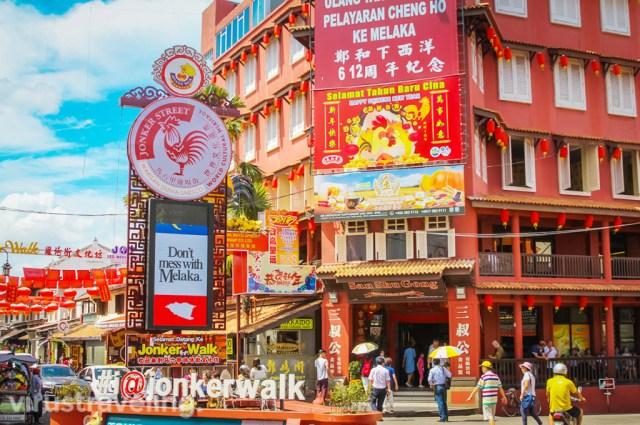 Jonker Street Melaka Malaysia