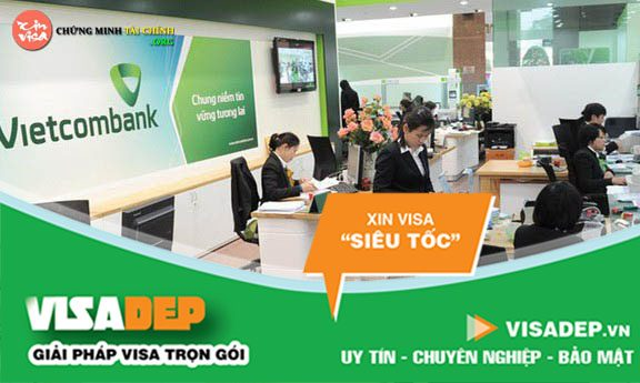 chứng minh tài chính vietcombank