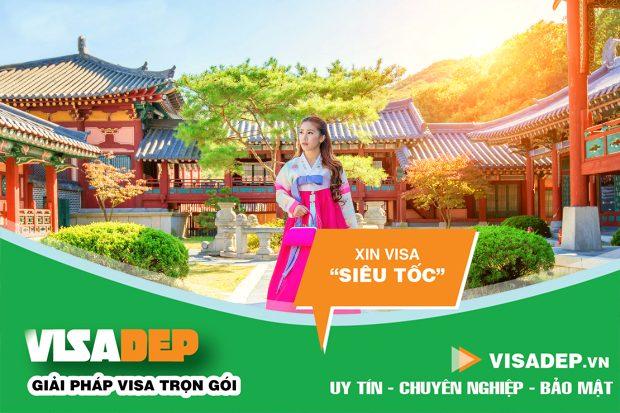 Kinh nghiệm xin visa Hàn Quốc tự túc 2020