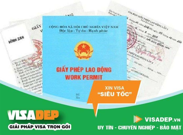 Hồ sơ giấy phép lao động cho người nước ngoài