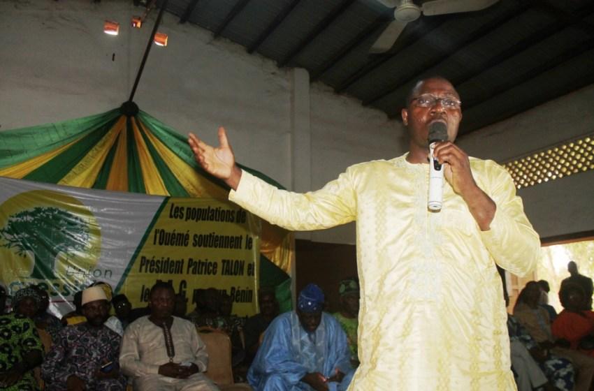 Vulgarisation des idéaux du Parti Union Progressiste dans l'Ouémé : Ahouanvoébla implante le baobab gagnant à Adjarra