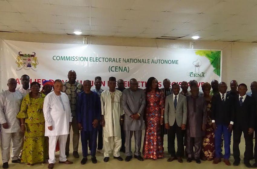 Législatives 2019: La Céna procède à l'évaluation des élections
