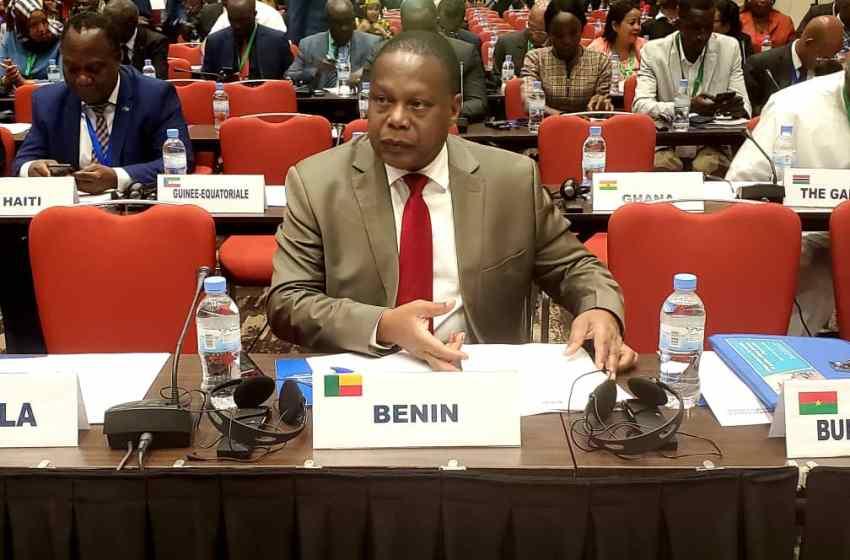 55ème session de l'Assemblée parlementaire ACP et 38ème Session de l'Assemblée parlementaire paritaire ACP-UE à Kigali: Le 2ème Vice-président Robert Gbian présente les nouvelles avancées politiques au Bénin