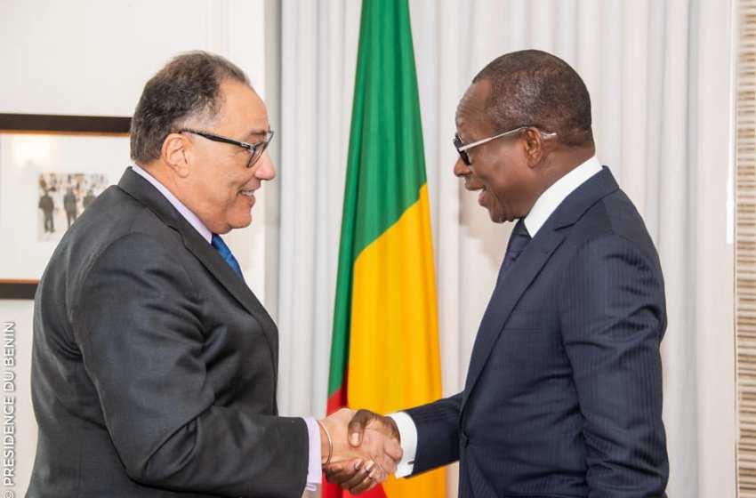 Séjour du Chef de l'Etat à Washington : Patrice Talon échange avec le Vice-président de la Banque Mondiale et avec la diaspora béninoise