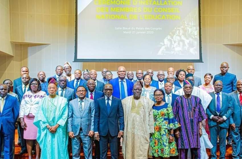 Nouvelle ère dans les divers ordres d'enseignements au Bénin : Patrice Talon installe les membres du Conseil National de l'Éducation