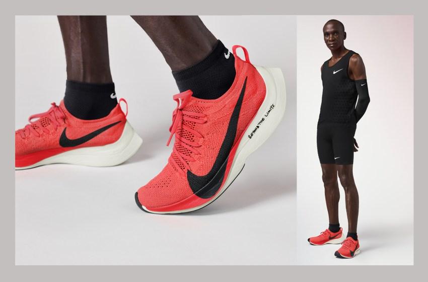 """Nike dévoile une version modifiée des """"chaussures magiques"""" de Kipchoge"""