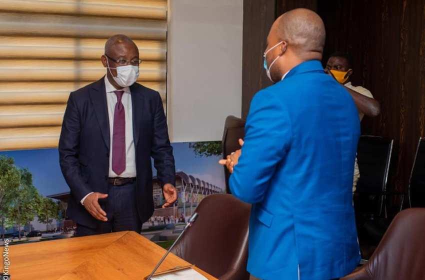 Nouvelle dynamique du développement urbain : Les Maires de Porto-Novo, Ouidah et Abomey-Calavi au cabinet du Ministre José Tonato