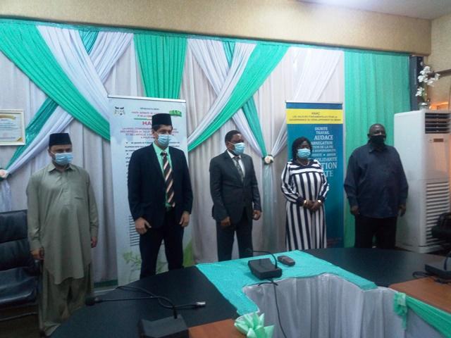 Coopération / Audience au cabinet du président de la HAAC: Le chef de mission Jama'at Islamique Ahmadiyya au Bénin dévoile son plan d'action