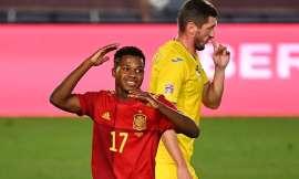 Ligue des nations : l'Espagne frappe fort, Fati dans l'histoire