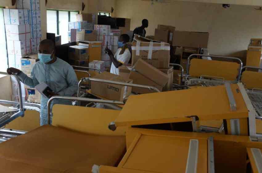 Santé / Un Béninois de la diaspora fait don de matériel médical à la zone sanitaire Djougou-Copargo-Ouaké