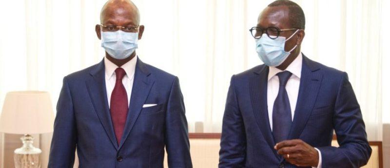 Patrice Talon et Siaka Coulibaly