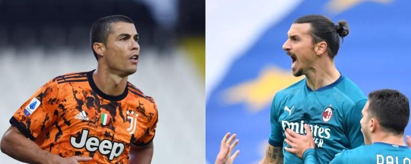 Ronaldo et Ibrahimovic