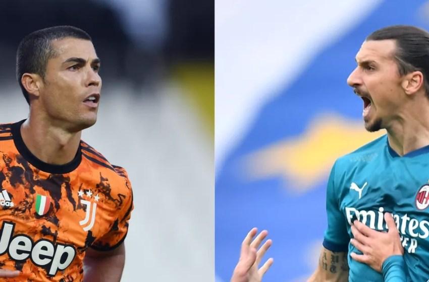 Ronaldo et Ibrahimovic, deux papys qui font (encore) le show
