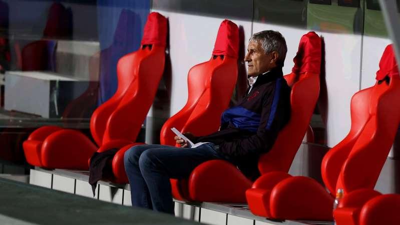 Quique Setién colle un procès au FC Barcelone