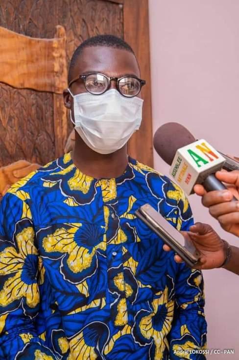 Bénilde Akambi, le nouveau Président du Gouvernement des Jeunes du Bénin
