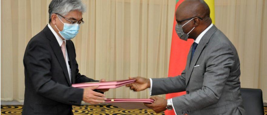 Coopération Bénin-Japon: Les notes d'accords et de dons pour la construction de l'échangeur de Vèdoko et alimentation en eau potable actés