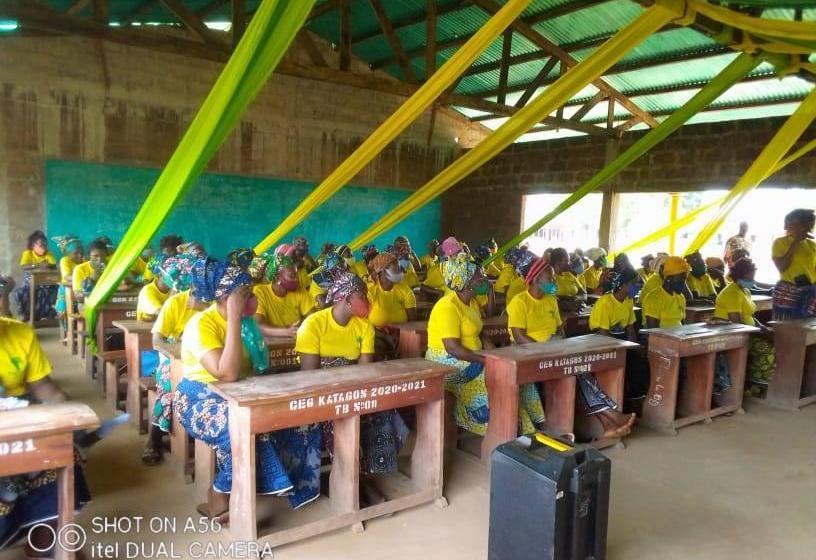 JIF-2021 à Akpro-Missérété : Le CA Serge Anago-Kouta célèbre et valorise les femmes UP de Katagon