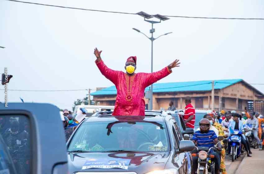 Présidentielle 2021 Louis G. Vlavonou lance officiellement la campagne de l'UP à Porto-Novo