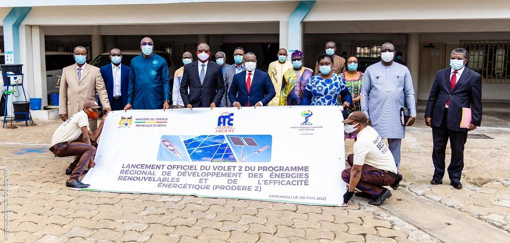 Bénin/Energie: Lancement du Volet 2 du Programme Régional de Développement des Energies Renouvelables et de l'Efficacité Energétique