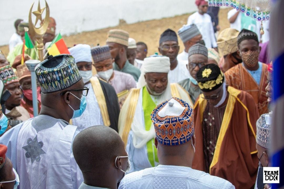 Ramadan à Porto-Novo: Le Message du Représentant du Président Louis Vlavonou aux dignitaires musulmans