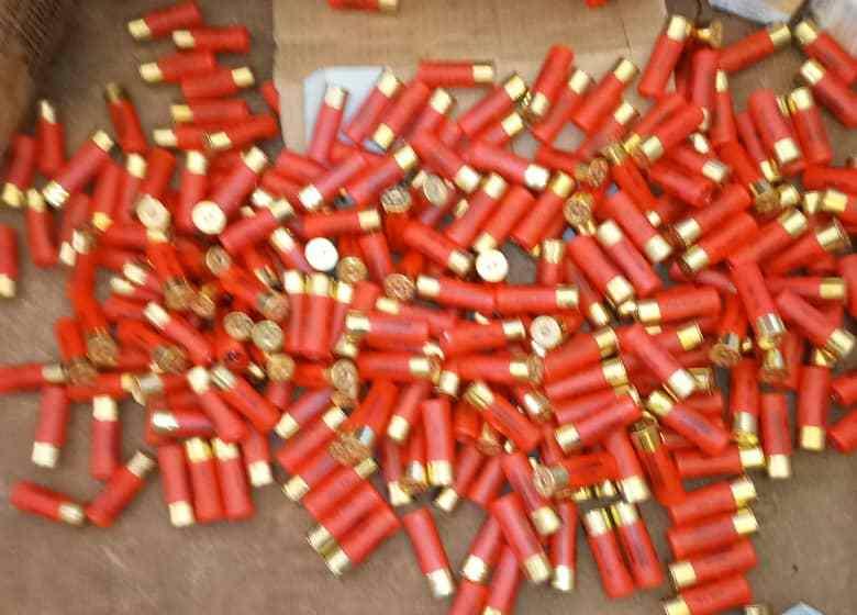 Insécurité : 70 mille cartouches de calibre 12 découvertes dans un minibus accidenté à Bantè