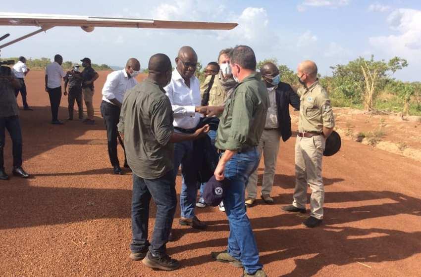 Point de la visite du Ministre José TONATO au Parc national de la Pendjari