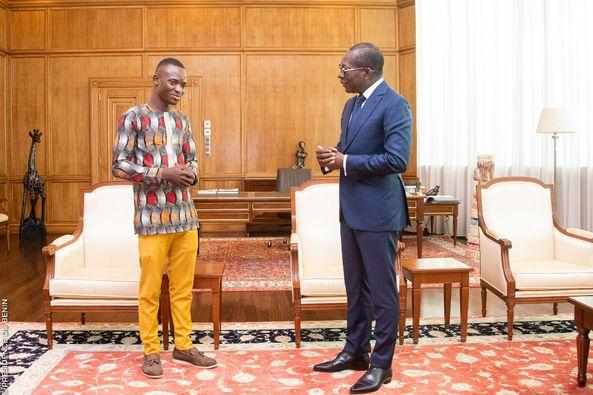 Bénin/Emploi/ Patrice Talon au jeune Dr Pharmacien et producteur de mobiliers en bois: «Vous êtes un symbole pour la jeunesse de ce pays!»