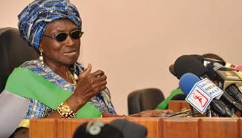 L'ex première Dame du Bénin, Rosine Soglo