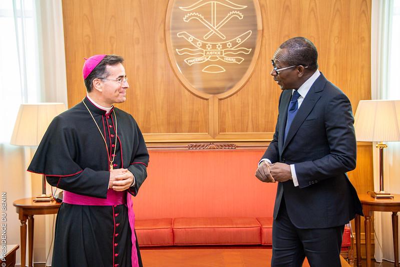 Bénin/Diplomatie : Le Président TALON reçoit les lettres de créance de 04 nouveaux Ambassadeurs