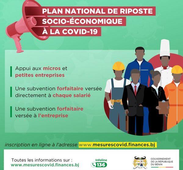#Bénin/Appui-Covid-19: Le Gouvernement invite les entreprises formelles et informelles à s'inscrire