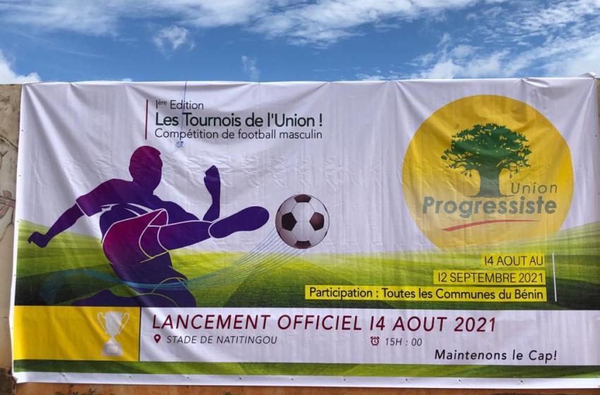 L'honorable Ahouanvoébla au Lancement du « Tournoi de l'Union»: «C'est une autre occasion de détection de nouveaux talents».