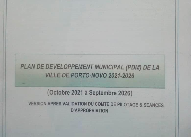 Session extraordinaire du Conseil Municipal de Porto-Novo: Unanimité autour du Plan de Développement Municipal 2021-2026