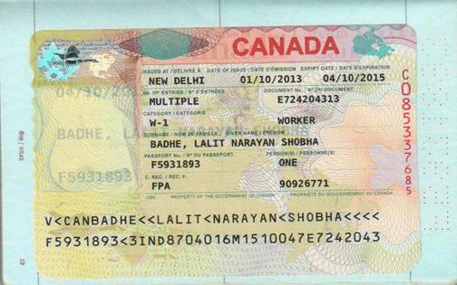 canada employment visa