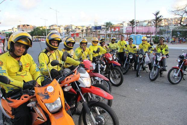 Credenciamento de mototaxistas será retomado no próximo dia 22